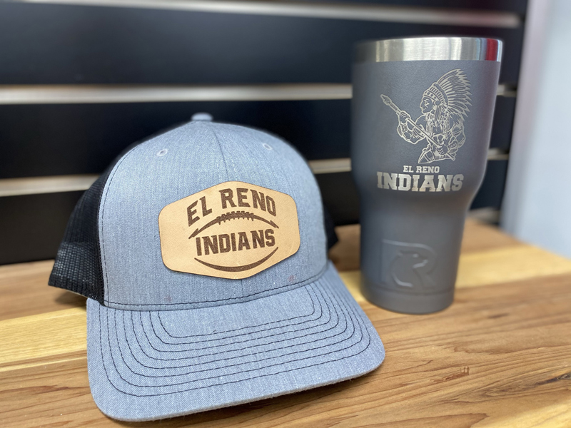 hat and cup laser engraving