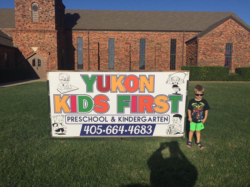 yukon kids sign post