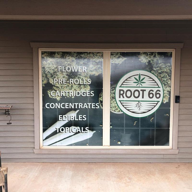 banner installation to window